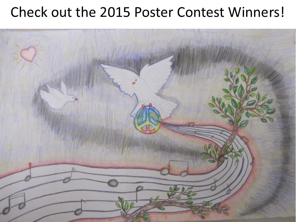 Congratulations to the 2015 Youth Outreach Poster Contest winners