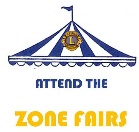 THE ZONE FAIRS ARE COMMING DON'T FORGET TO RSVP